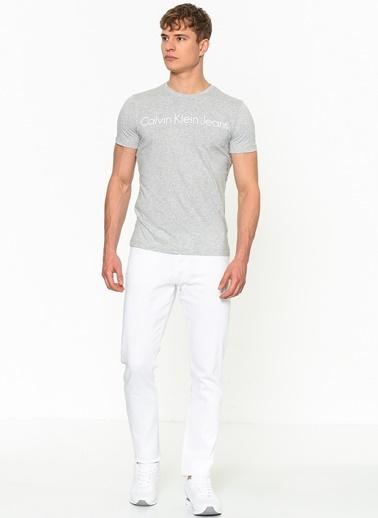 Calvin Klein Jean Pantolon | Straight Beyaz
